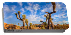 Joshua Tree Dawn Portable Battery Charger