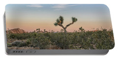 Joshua Tree Evening Portable Battery Charger