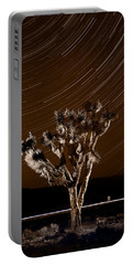 Joshua Tree Night Lights Death Valley Bw Portable Battery Charger