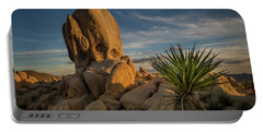 Joshua Tree Rock Formation Portable Battery Charger
