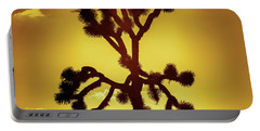 Portable Battery Charger featuring the photograph Joshua Tree by Stephen Stookey