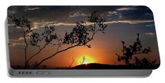 Joshua Tree Sunset Portable Battery Charger
