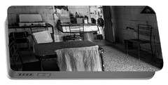 Portable Battery Charger featuring the photograph Josie's Kitchen Havana Cuba by Joan Carroll