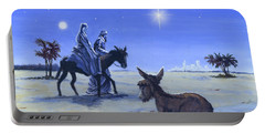 Journey To Bethlehem Portable Battery Charger
