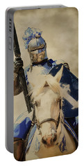 Jousting Portable Battery Charger by Steve McKinzie