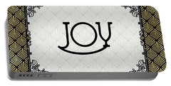 Joy - Art Deco Portable Battery Charger