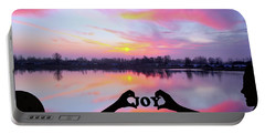 Portable Battery Charger featuring the photograph Joy - Digital Art by Ericamaxine Price