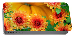 Joy Of Autumn Portable Battery Charger by Angela Davies