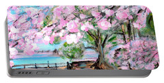 Joy Of Spring. For Sale Art Prints And Cards Portable Battery Charger
