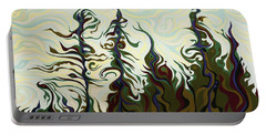 Joyful Pines, Whispering Lines Portable Battery Charger