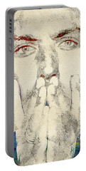 Jude Law Portable Battery Charger by Mihaela Pater