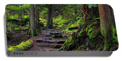 Portable Battery Charger featuring the photograph Jug Island Beach Trail by Sharon Talson