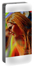 Julee Ross Carbon Girls Portable Battery Charger