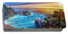 Julia Pfeiffer Beach Portable Battery Charger