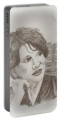 Juliette Binoche Portable Battery Charger