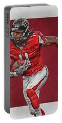 Julio Jones Atlanta Falcons Art Portable Battery Charger