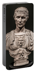 Portable Battery Charger featuring the photograph Julius Caesar by Chris Lord