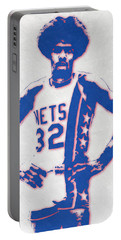 Julius Erving Portable Battery Chargers