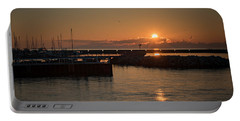 July Sunrise Portable Battery Charger by James Meyer