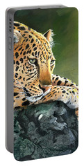 Jumanji Portable Battery Charger by Sherry Shipley