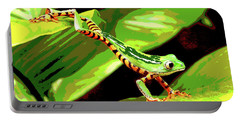 Jumping Frog Portable Battery Charger by Charles Shoup