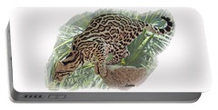Pouncing Ocelot Portable Battery Charger