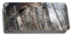 Jumping White-tail Buck Portable Battery Charger