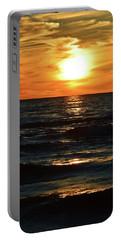 June 21 - 2017 Sunset At Wasaga Beach  Portable Battery Charger