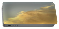 Portable Battery Charger featuring the photograph June 3 - 2016 Clouds  by Lyle Crump
