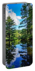 Portable Battery Charger featuring the photograph June Day At The Park by Kendall McKernon