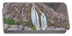 June Lake Loop Falls Portable Battery Charger