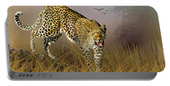 Portable Battery Charger featuring the photograph Jungle Attitude by Diane Schuster