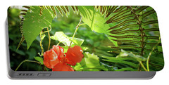 Jungle Begonia Portable Battery Charger
