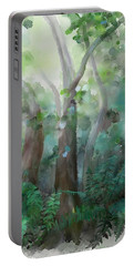 Jungle Portable Battery Charger by Ivana Westin