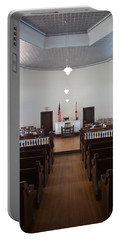 Jury Box In A Courthouse, Old Portable Battery Charger