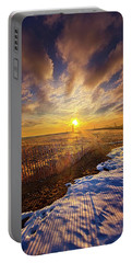 Portable Battery Charger featuring the photograph Just A Bit More To Go by Phil Koch
