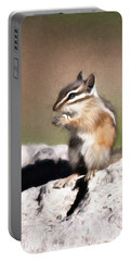 Portable Battery Charger featuring the photograph Just A Little Nibble by Lana Trussell