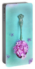 Just A Spoonful Of Petals  Portable Battery Charger