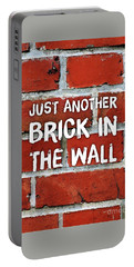 Just Another Brick In The Wall Portable Battery Charger