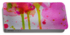 Portable Battery Charger featuring the painting Just As I Am by Tracy Bonin