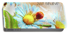Just Believe Portable Battery Charger