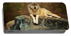 Portable Battery Charger featuring the photograph Just Chilling by Susan Rissi Tregoning