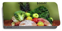 Just Eat Real Food Portable Battery Charger