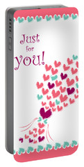 Just For You Portable Battery Charger