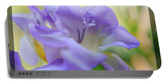 Portable Battery Charger featuring the photograph Just Freesia's by Lance Sheridan-Peel