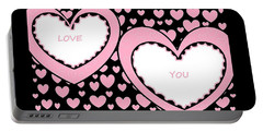 Just Hearts 2 Portable Battery Charger