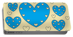Just Hearts 4 Portable Battery Charger