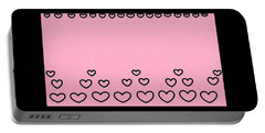 'just Hearts 8' Portable Battery Charger