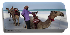 Just Married Camels Kenya Beach 2 Portable Battery Charger