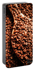 Just One Scoop At The Coffee Brew House  Portable Battery Charger